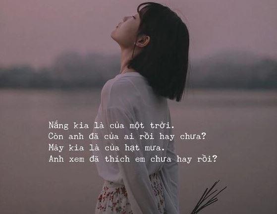 thơ thả thính